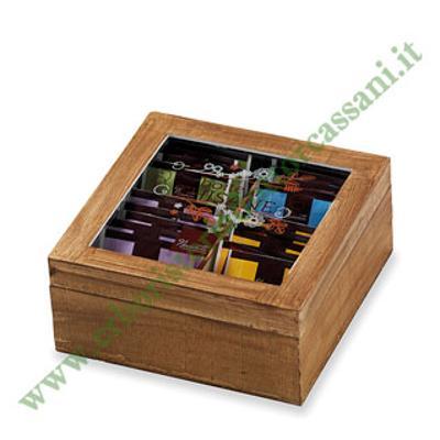 Vendita online prezioso porta tisane in legno medio idea - Porta tisane ikea ...