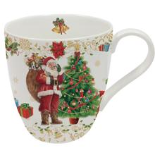MERRY CHRISTMAS: Tazza in Porcellana Dec1 350 ml