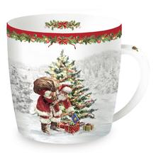CHRISTMAS SNOW: Tazza in Porcellana Dec2 350 ml
