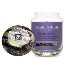 Salvia e Lavanda Large Candle