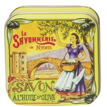 La Savonnerie de Nyons: Saponetta in Latta Decorata Dec12