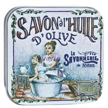 La Savonnerie de Nyons: Saponetta in Latta Decorata Dec5