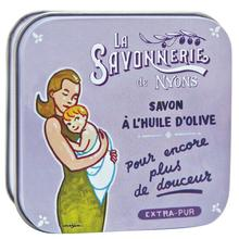 La Savonnerie de Nyons: Saponetta in Latta Decorata Dec7