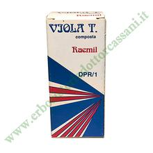 DPR/1 VIOLA TRICOLORE COMPOSTA 25 ml
