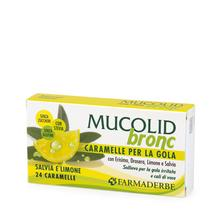 Mucolid Bronc Salvia e Limone 24 Caramelle