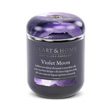 Violet Moon Small Candle