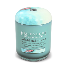 Sale del Mediterraneo Large Candle