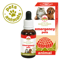 Australian Bush Flower Essences EMERGENCY PETS Universe Pets