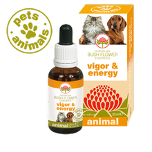 Australian Bush Flower Essences VIGOR & ENERGY Universe Pets