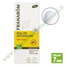Pranarom: AROMAPIC Roll-On Antizanzare Latte Corpo 75 ml