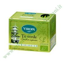 TE' VERDE SENCHA SUPERIOR Biologico in Filtri